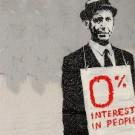 0 interest in people